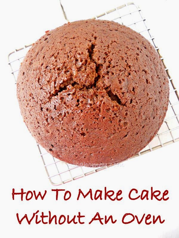 How to make the cake without oven