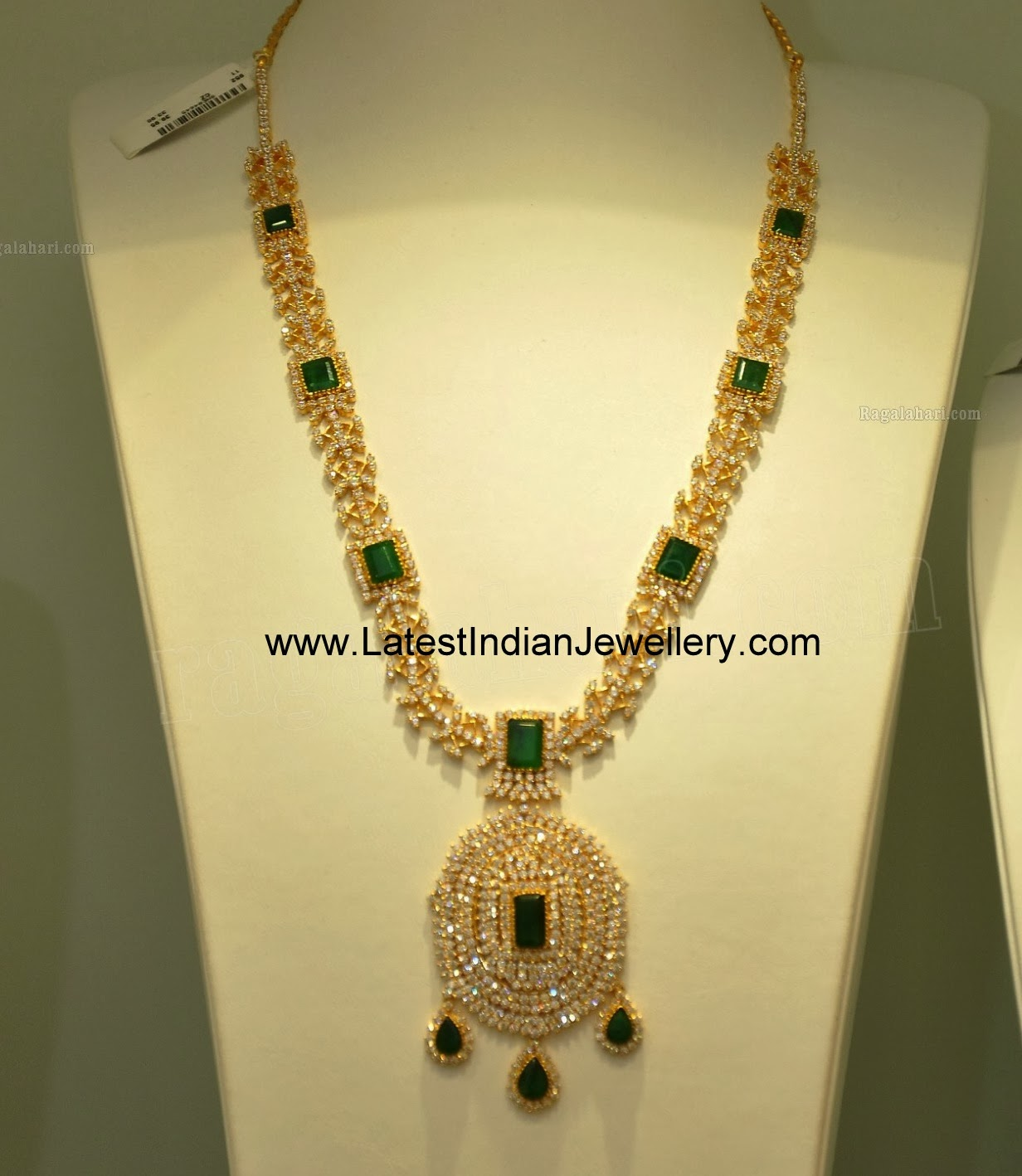 CZ Emeralds Long Haram