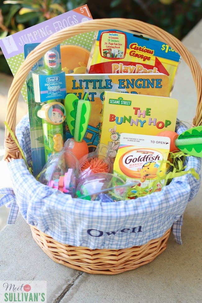 Meet The Sullivans Owen 39 S Easter Basket 2014