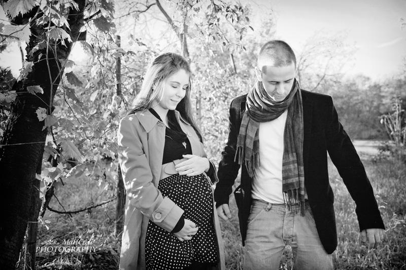 maternità bianco e nero