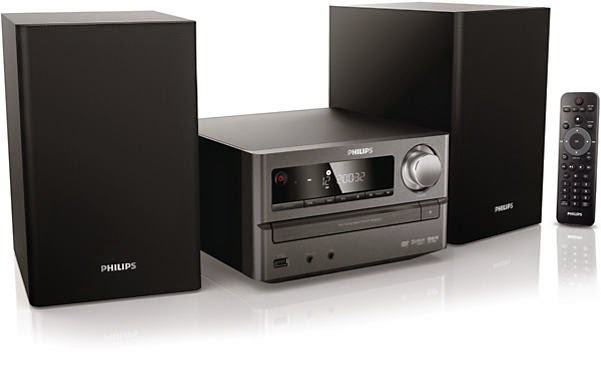 Philips MCD2010,DVD Micro Hi-Fi System Plus Dolby Digital