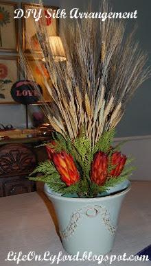 Preppie peonie diy silk flower arrangement here i where i insert pictures of very expensive unbelievably realistic looking silk floral arrangements mightylinksfo