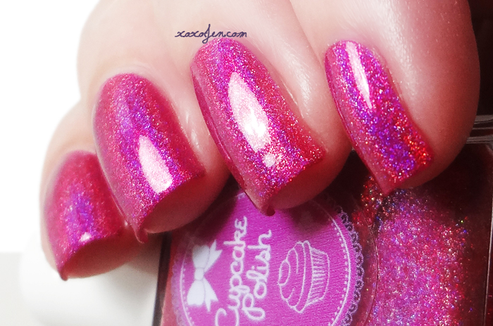 xoxoJen's swatch of Cupcake Polish Some Berry To Love