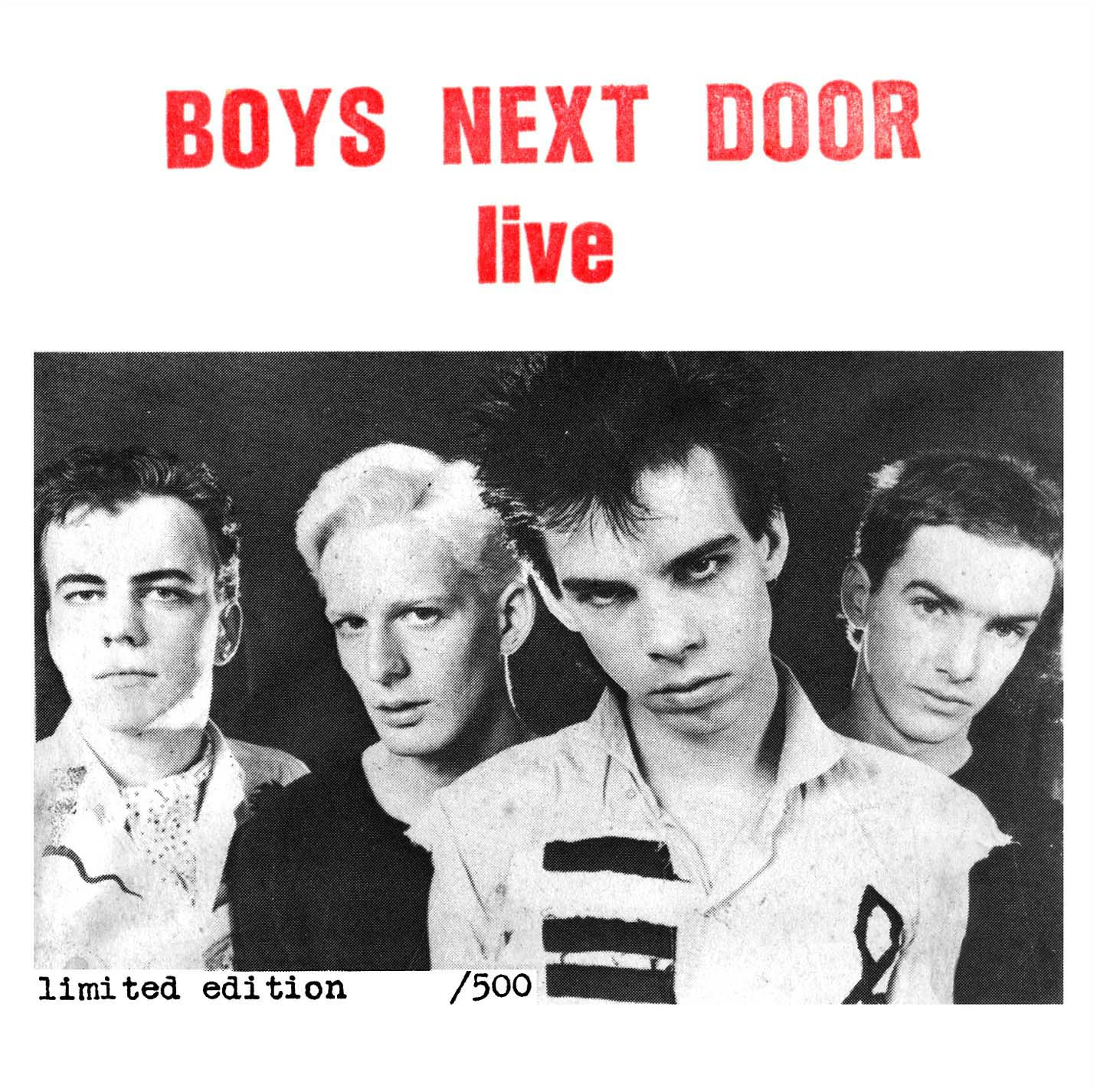 Boys Next Door Live 1977