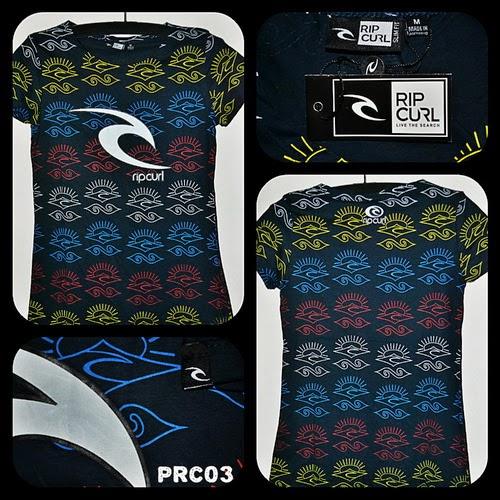 Kaos Surfing Cewek RIPCURL Kode PRC03