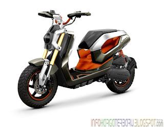 Harga Honda Zoomer-X Motor Matic Spesifikasi 2012