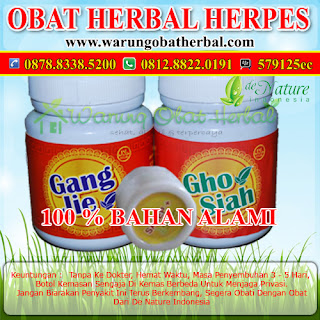 Obat Herbal Herpes - De Nature Indonesia