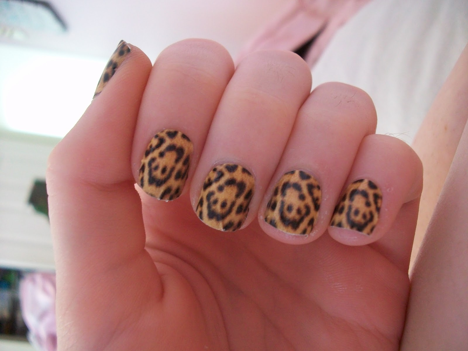 Loveamils Furry Cheetah Nail Rock Designer Nail Wraps