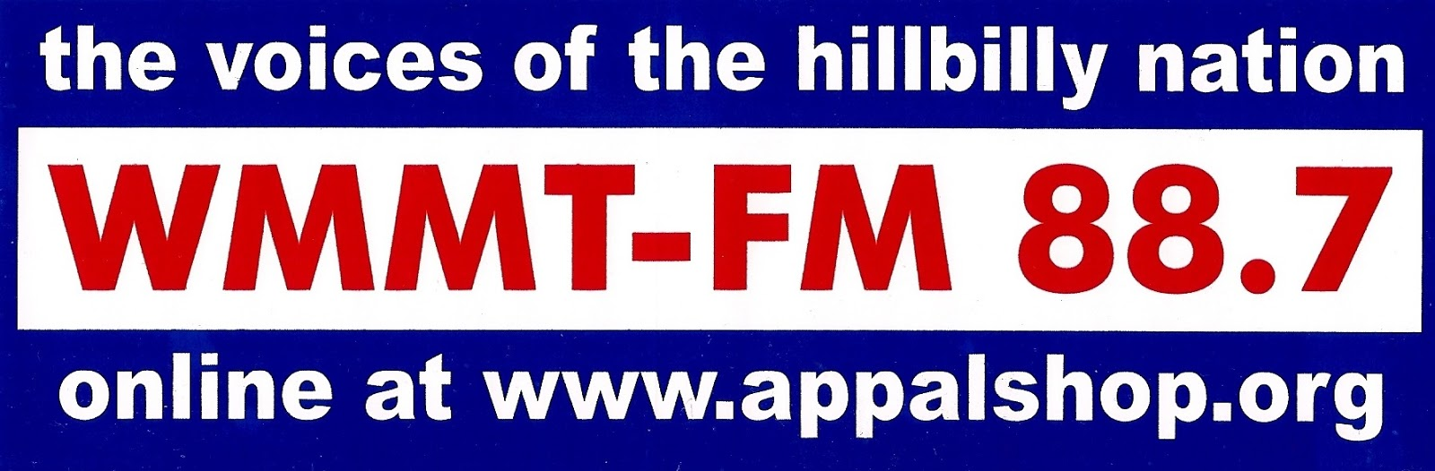 Radio sticker of the day february 2013 for 94 fm the fish