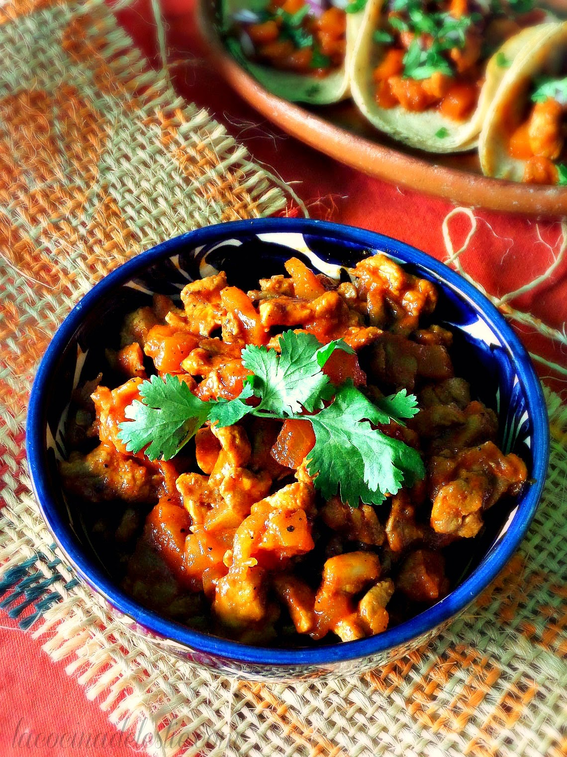 Carne Adobada / Carne al Pastor para Tacos - lacocinadeleslie.com