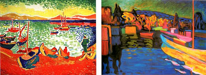 example of fauvism