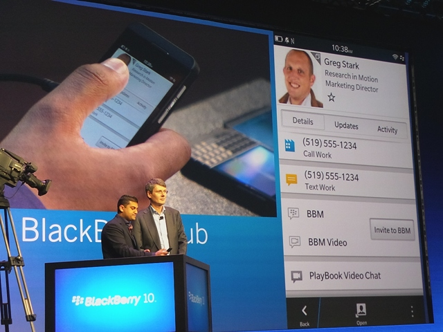 Foto-Foto Rilis BlackBerry 10