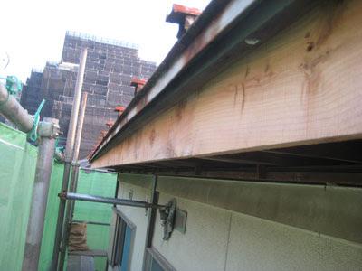 東京都 府中市 屋根工事 雨漏り修理 鼻隠し新規設置
