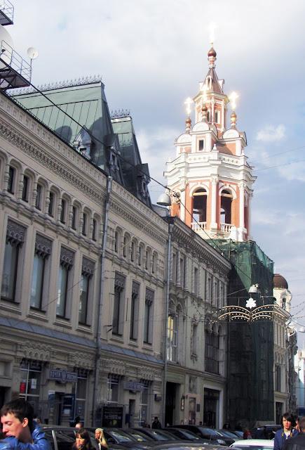 Москва, Театральная площадь, рядом ГУМ