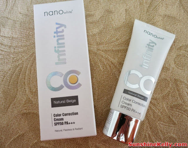 Bag of Lice, beauty bag, bag of love, beauty, skincare, haircare, nailcare, NanoWhite Infinity Color Correction (CC) Cream