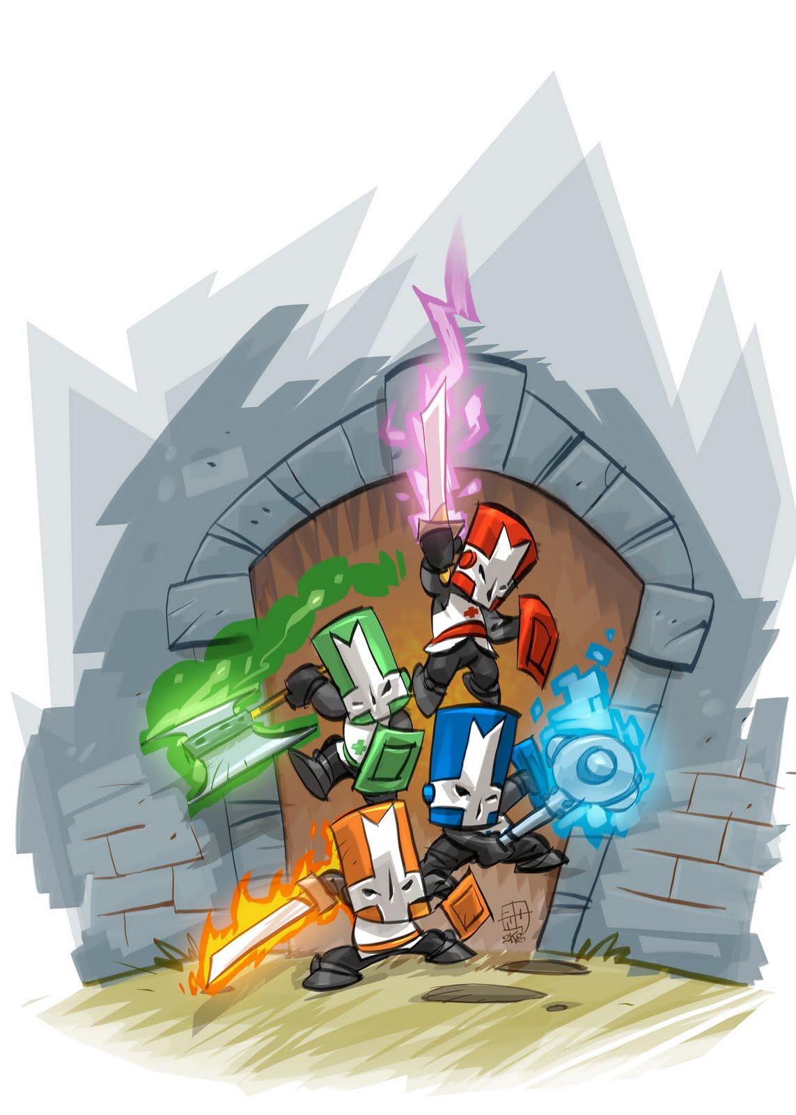 Not Content Yet Castle Crashers Fan Art Gold Mine