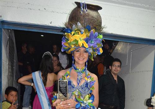 Best National Costume title winner