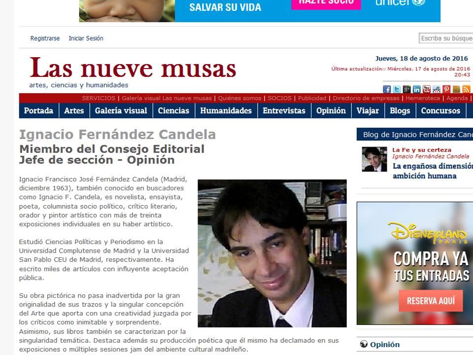 Miembro del Consejo Editorial y Jefe de sección-Opinión.