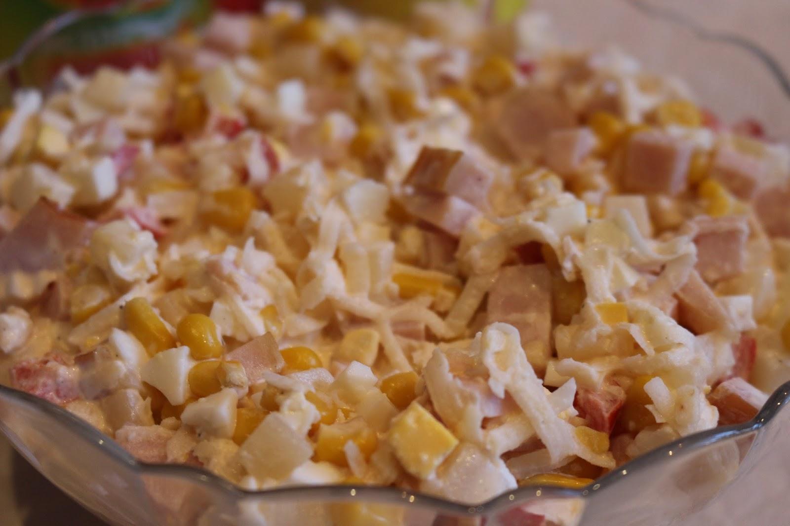 Salatka Z Szynka Ananasem I Selerem Kulinaria Zblogowani