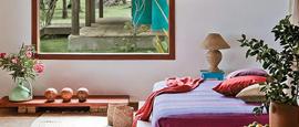Just make it work: Ethnic bedroom