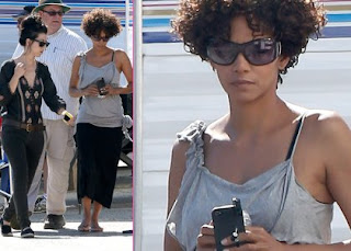 Halle Berry Resumes Filming