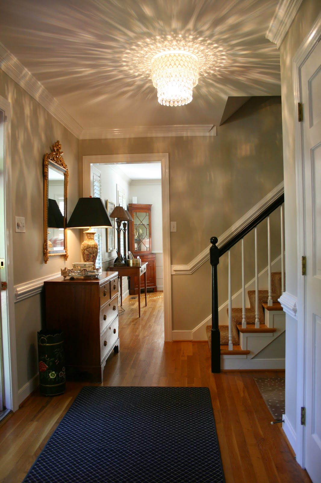 New Home Foyer : Richmond real estate mom new house foyer updates