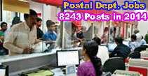 Postal Assistant Recruitment 2014 Notification, Postal Sorting Assistant Posts Apply Online, www.prasadexam.in Online Application for 8243 Postal Jobs