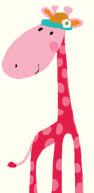 girafe children's cards liz and pip ltd