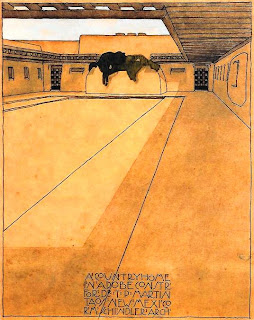 Martin Residence, Taos, 1915, R. M. Schindler. Courtesy UC Santa Barbara Art ...