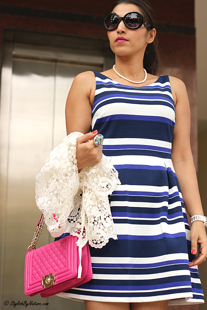 Colored Stripe Dress