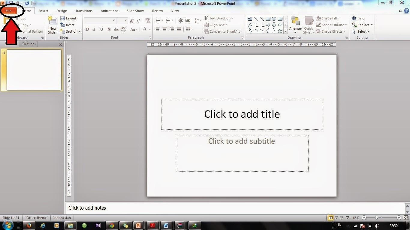 Cara Mengaktifkan Tab Developer Pada Powerpoint 2007 Chemistry Is Fun And Easy
