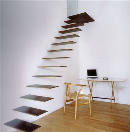 Minimalist interior design staircase for Stair designs interior