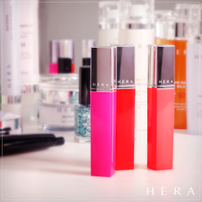 Image of Hera Sheer Holic Pop Tint, Ji Sung, Ahn Yona Tint - pinknomenal.blogspot.com