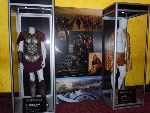 Immortals costume display
