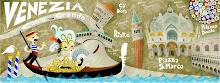 My Venice map - la mia Venezia