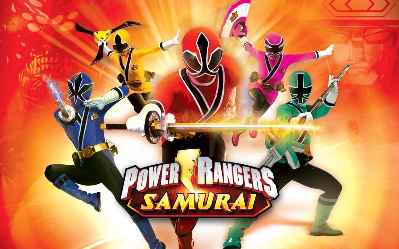 power rangers samuari