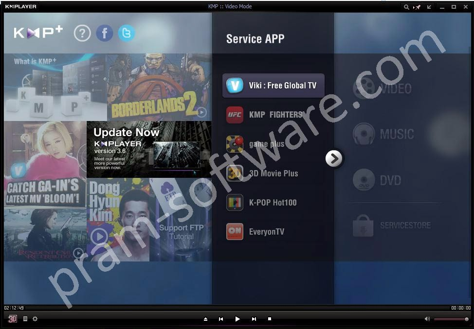 Screenshot KMPlayer