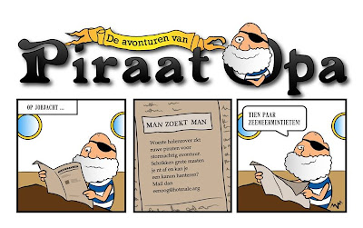 new cartoon Piraat Opa