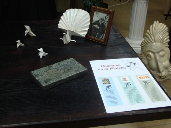 Patrimonio popular exposici n de esculturas sobre unamuno for Oficina correos salamanca