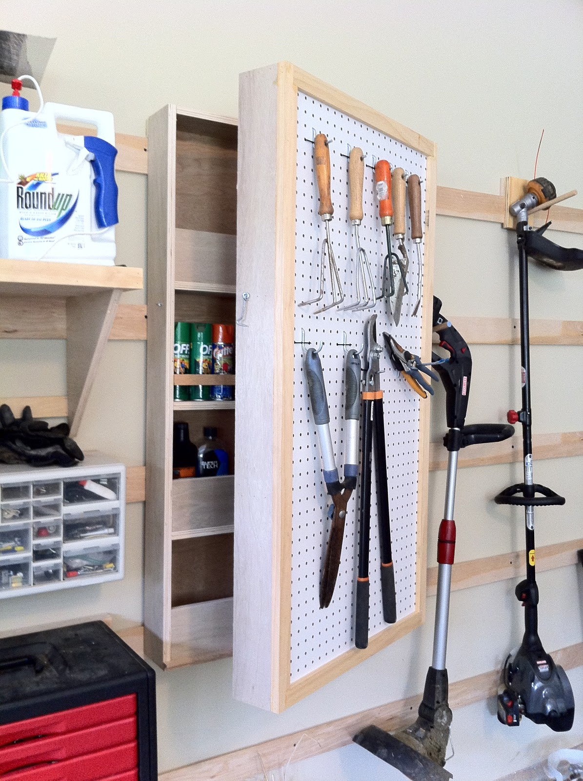9 Wall Storage Ideas That You Need To Try: Chad's Workshop: French Cleat Storage