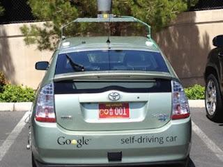 mobil google tanpa pengemudi