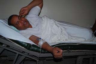 Trinidad ha sido ingresado en un Centro Medico