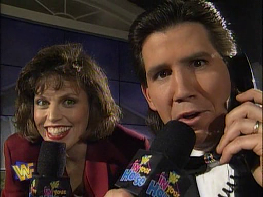 WWF / WWE - In Your House 1 - Todd Pettengill and Stephanie Wiand revealed the winner of the Florida vacation home