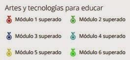 MEDALLAS #moocarteytic