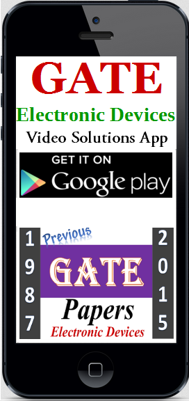 GATE Electronic Devices Video Solutions