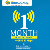 [Delhi Only] SitiCable Free Broadband Internet for 1 Month :buytoearn