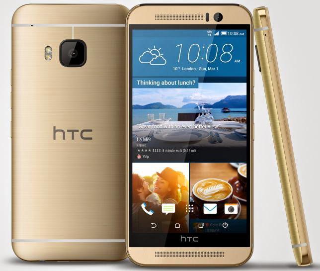 Gambar dan harga HTC One M9