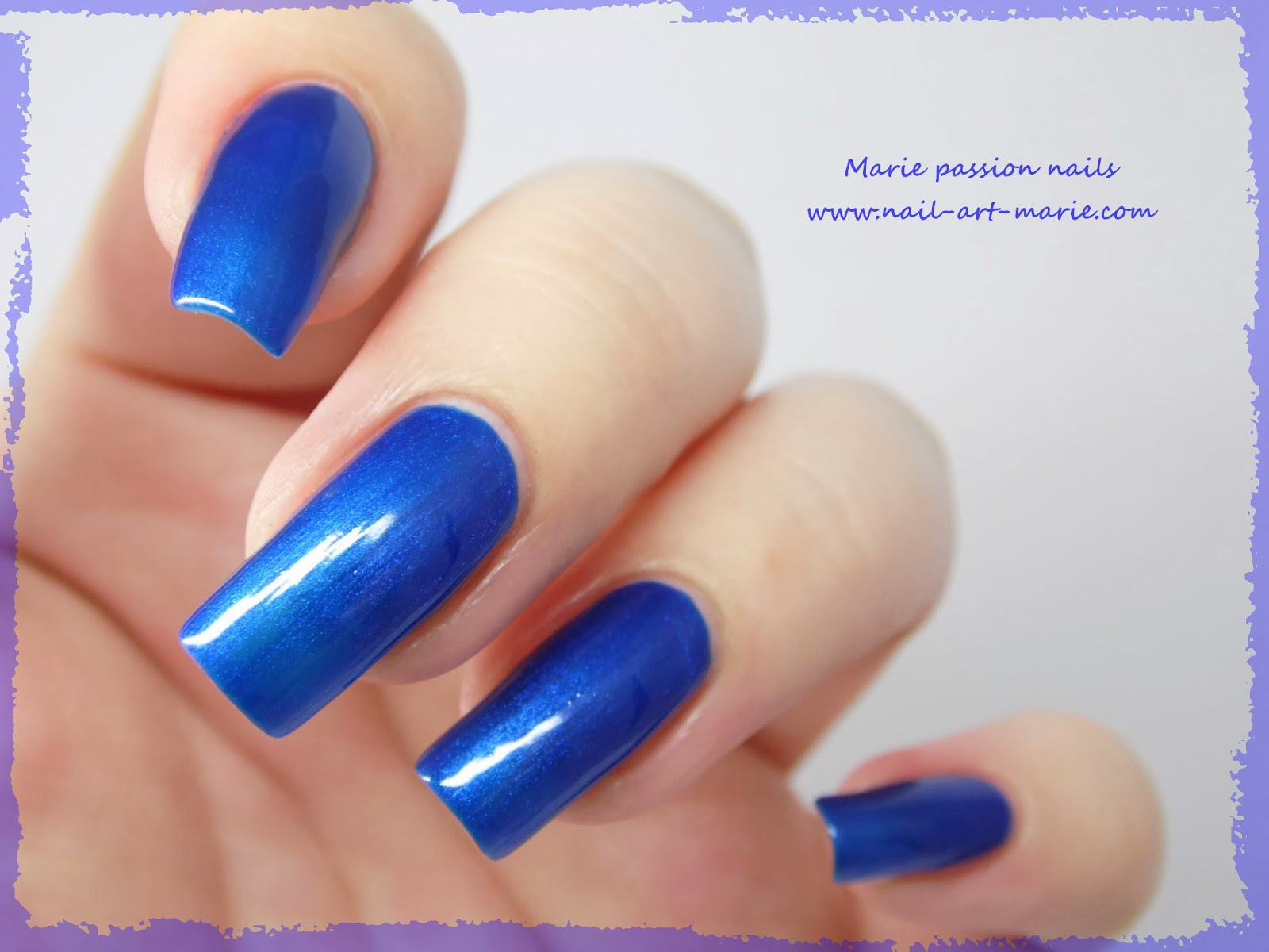Vernis Scandal Sea Blue Pearl7