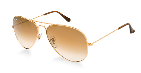 ray ban golden glass  the gold frame makes them stand out a little bit without being too out there. and the color of the lenses are great.