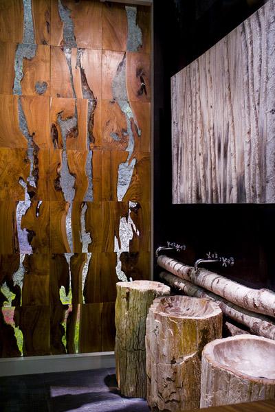 Revestimientos murales en madera ideas para decorar dise ar y mejorar tu casa - Murales de madera ...